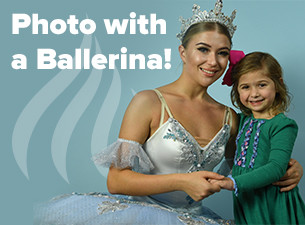Photo with a ballerina
